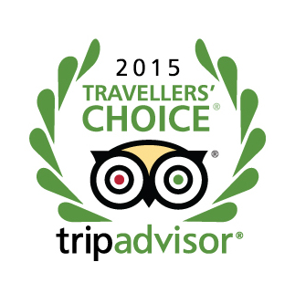 Trip Advisor Travellers' Choice 2015