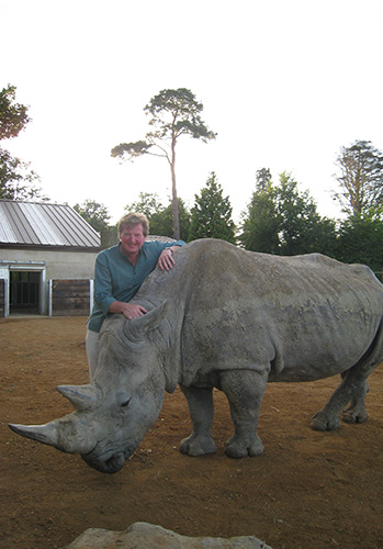 Reggie Heyworth – Cotswold Wildlife Park Park's Managing Director